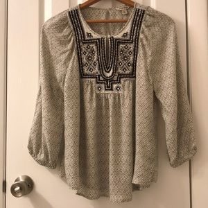 5/$25 Lucky Brand top size small